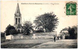 78 CONFLANS-SAINTEHONORINE - Place Gévelot - Conflans Saint Honorine