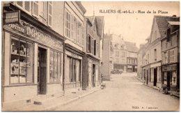 28 ILLIERS - Rue De La Place - Illiers-Combray