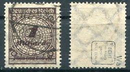 Deutsches Reich Michel-Nr. 325Wa Gestempelt - Geprüft - Deutschland
