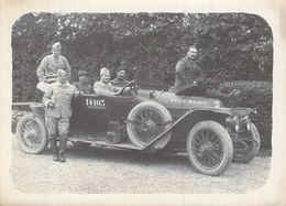 PHOTO ANCIENNE VEHICULE ETAT MAJOR 69 D I 1914 1918 WW1 PREMIERE GUERRE VEHICULE - Guerre, Militaire