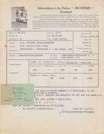 1958: Lettre De ## C.A.F.B., Rue De La Charité,13-15, BR. ##  à La ## S.A. Anc. Ets. H.L. BECKER Fils & Cie, Rue ... - Banque & Assurance