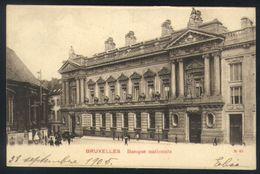 P01 - Brussel / Bruxelles - Banque Nationale - Monuments