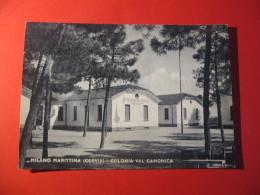 CARTOLINA   MILANO MARITTIMA CERVIA COLONIA VAL CAMONICA       D -  2000 - Ravenna