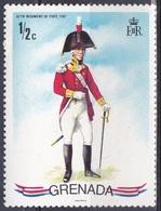 Grenada 1971 Militär Military Soldaten Soldiers Uniformen Infanterie Infantry, Mi. 422 ** - Grenada (...-1974)