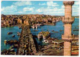 1969. Istambul. The Galata Bridge. Airplane Stamp. VG. - Turchia