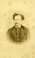 France Paris Homme Portrait Mode Second Empire Lavendrier? Ancienne Photo CDV Raoult 1860's - Alte (vor 1900)
