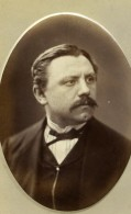 France Lille Portrait M Lenar Ancienne Photo CDV Faure 1870' - Alte (vor 1900)