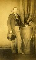 Belgique Chimay Homme Portrait Ancienne Photo CDV Kirsch 1860' - Photographs