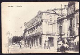 CPA - REIMS (51 - MARNE) - LE THEATRE - ANIMEE - Reims