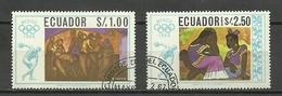 ECUADOR 1967 - Verano 1968: México