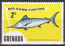 Grenada 1975 Tiere Fauna Animals Fische Fish Pescis Wahoo, Mi. 632 ** - Grenada (1974-...)