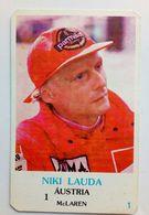 Calendrier De Poche Niki Lauda. 1986 - Calendriers