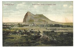GIBRALTAR - Rock Frome Queen Of Spain's Chair - Gibraltar