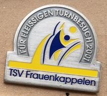 CLUB DE GYMNASTIQUE FEMININ SUISSE ALLEMANIQUE - TSV FRAUENKAPPELEN - FUR FLEISSIGEN TURNBESUCH 2001 -  (ROSE) - Gymnastics
