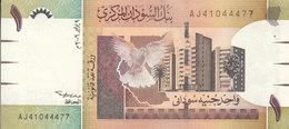 SUDAN 1 POUND 2006 MWR-RC3 P-64  REPLACEMENT AU-UNC  */* - Soudan