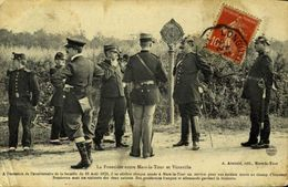 LA FRONTIERE ENTRE MARS-LA-TOUR ET VIONVILLE / A 138 - Militaria