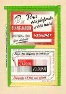 Lot De 2 BUVARDS : Peinture A L'eau Veloumat - Paints