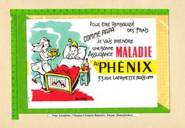 BUVARD : Assurance De Maladie PHENIX - Bank & Insurance