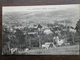 CPA 23 LAVALEIX Les MINES  Vers Ahun  - Vue Générale  Et Troupeau De Vaches Au Paturage 1915 - France