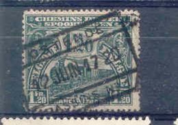 A181 Begie Spoorweg Chemin De Fer  Stempel OSTENDE - 1915-1921