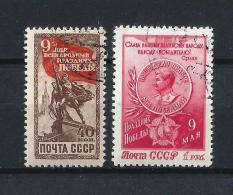 URSS451) 1950 -5° Armistizio 9maggio - Serie Cpl 2 Val.USED - 1923-1991 URSS