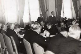 Paris Georges Bonnet Conference Diplomatique Ancienne Photo SAFARA 1938 - Famous People