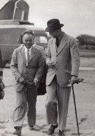 Paris Le Bourget Prince Kindavong Laos Indochine Lenglade Ancienne Photo 1945 - Famous People
