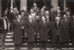 Paris Gouvernement Edouard Daladier Paul-Boncour Ancienne Photo Meurisse 1933 - Famous People