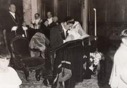 Paris? Église De L'Immaculée-Conception Mariage Di Paco Salvati Ancienne Photo Meurisse 1930's - Famous People