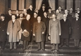 Paris Gouvernement Albert Sarraut Paul-Boncour Ancienne Photo Meurisse 1933 - Famous People