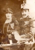 Roi D'Espagne Alphonse XIII & Victoire-Eugénie De Battenberg Ancienne Photo Meurisse 1931 - Famous People