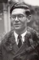 France Compositeur Marcel Bitsch Prix De Rome Ancienne Photo De Presse 1945 - Famous People