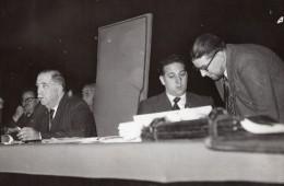Paris Palais De Chaillot Conference Syndicale Jouhaux Saillant Ancienne Photo De Presse 1945 - Professions