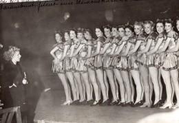 Paris Palais Des Sports Fete De La Glace Blues Belles Girls Du Paramount Photo Meurisse 1930's - Professions