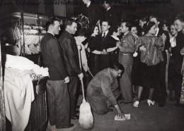 Paris Greve Dans Les Grands Magasins Front Populaire Ancienne Photo Meurisse 1936 ? - Professions