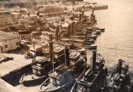 New York Greve Des Remorqueurs Port Paralyse Ancienne Photo De Presse 1946 - Boats