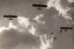 Paris Le Bourget Aviation Manoeuvres Aeriennes Ancienne Photo Meurisse 1930's - Aviation