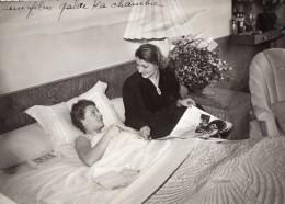 Actrice De Cinema Mademoiselle Annabella Accident De Tournade Ancienne Photo Meurisse 1930's - Famous People