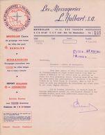1953: Lettre De ## Les Messageries L. HALBART S.a., Rue Vanden Boogaerde, 17-21, BR. ## - Transport