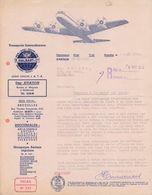 1960: Lettre De ## Transports Int. F. HALBART & Cie, Rue Vanden Boogaerde, 19-21, BR. ## Aux ## Ets. BECKER, Rue ... - Transport