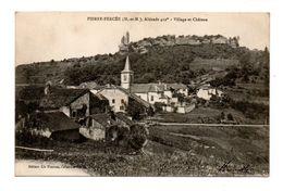 54 - PIERRE-PERCÉE . VILLAGE ET CHÂTEAU - Réf. N°8673 - - Otros Municipios