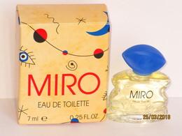 Miniatures De Parfum   MIRO   EDT  7  ML  +  BOITE - Miniatures Modernes (à Partir De 1961)