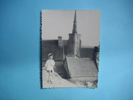 PHOTOGRAPHIE   PERROS GUIREC  - 22  -  Eglise De La Clarté  -  8,7 X  12 Cms - 1955  -  Côtes D'Armor - Perros-Guirec