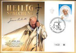 HEILIG SPRECHUNG CANONIZZAZZIONE PAPA GIOVANNI PAOLO II CITTA DEL VATICANO 27 APRILE 2014 - Vaticaanstad