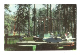 02294 Russia Boksitogorsk City Garden Chidren Carousel - Scènes & Paysages