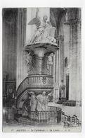 (RECTO / VERSO) AMIENS EN 1916 - N° 17 - LA CATHEDRALE - LA CHAIRE - PETIT ACCROC EN HAUT A DROITE - CPA VOYAGEE - Amiens