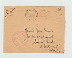 LSC 1959 - Cachet Poste Aux Armées AFN + Cachet Rouge ....POSTALE 86468  AFN - Postmark Collection (Covers)