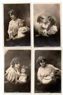 """FEMME . """" JEUNE MÈRE """" . PHOTO H. MANUEL . 7 CARTES POSTALES - Réf. N°8681 - - Women"""