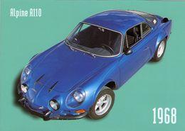 Alpine A110  -  1968  -  CPM - Voitures De Tourisme