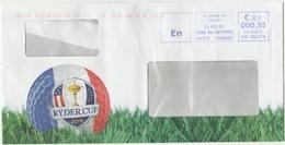 Fédération Française De Golf French Federation Ball Balle Ryder Cup 2018 - Golf